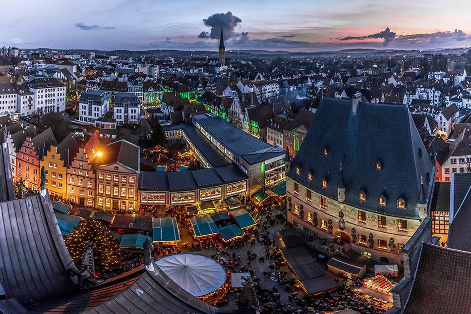 Weihnachtsmarkt Osnabrück.Osnabrück Fotodesign Jochen Thien Franck